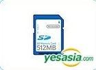 SD Memory Card 512MB (Japan Version)
