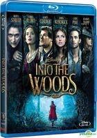 Into The Woods (2014) (Blu-ray) (Hong Kong Version)
