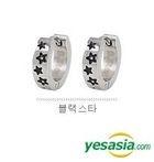 Winner Style - Star Wars One Touch Earrings (Black Star)