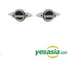 CNBLUE : Jung Yong Hwa Style - Flying Saucer Earrings (Silver)