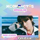 Park Ji Hoon - KCON:TACT HI 5 Official MD (Mini Behind Photobook)