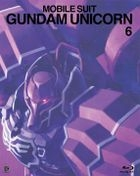 Mobile Suit Gundam Unicorn (Blu-ray) (Vol. 6) (Multi-Language Subtitles)  (First Press Limited Edition)(Japan Version)