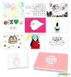 15& - Sugar Official Album Goods - Hand-drawn Postcard Set (10pcs)