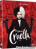 Cruella (Blu-ray + OST CD) (Limited Edition) (Korea Version)