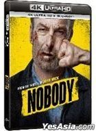 Nobody (2021) (4K Ultra HD + Blu-ray) (Hong Kong Version)