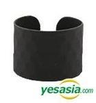GOT7 Style - Embo Bold Ring (Black) (US Size: 5 1/2 - 6)