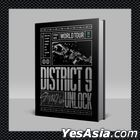 Stray Kids World Tour District 9 : Unlock in SEOUL (Blu-ray) (2-Disc + Photobook + Sticker + Print Photo) (Korea Version) + First Press Limited Mini Poster