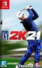 Golf PGA Tour 2K21 (Asian Chinese Version)