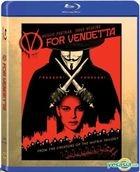 V For Vendetta (Blu-ray) (Hong Kong Version)