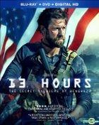 13 Hours: The Secret Soldiers of Benghazi (2016) (Blu-ray + DVD + Digital HD) (US Version)