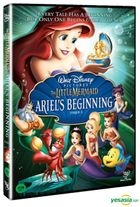 The Little Mermaid3: Ariel's Beginning (DVD) (Korea Version)
