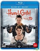Hansel and Gretel : Witch Hunters (Blu-ray) (3D + 2D) (Normal Edition) (Korea Version)