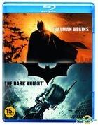 Batman Begins + Dark Knight (Blu-ray) (2-Disc) (Limited Edition) (Korea Version)