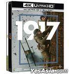1917 (2019) (4K Ultra HD + Blu-ray) (Steelbook) (Taiwan Version)