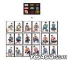 SF9 2021 Online Fan Meeting 'Reply FANTASY' Official Merchandise - 2-Cut Photo & Retro Sticker Set