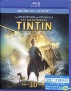 丁丁歷險記 (2011) (Blu-ray) (2D + 3D) (香港版)