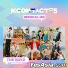 The Boyz - KCON:TACT HI 5 Official MD (Mini Behind Photobook)
