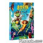 The Croods: A New Age (2020) (DVD) (Taiwan Version)