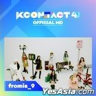 fromis_9 - KCON:TACT 4 U Official MD (Fabric Poster)