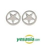 SHINee: Tae Min Style - Surgical Star Earrings (Silver)