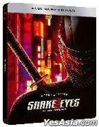 Snake Eyes: G.I. Joe Origins (2021) (4K Ultra HD + Blu-ray) (Steelbook) (Hong Kong Version)