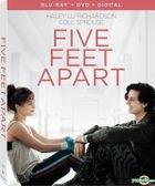 Five Feet Apart (2019) (Blu-ray + DVD + Digital) (US Version)