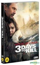 3 Days To Kill (2014) (DVD) (Slip Case) (Korea Version)