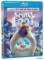 Smallfoot (2D + 3D Blu-ray) (2-Disc) (Korea Version)
