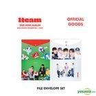1TEAM '2nd Mini Album Mini Photo Exhibition + Cafe' Official Goods - File Envelope Set