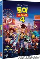 Toy Story 4 (DVD) (Korea Version)