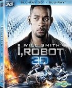 I, Robot (2004) (Blu-ray) (2D + 3D) (Hong Kong Version)