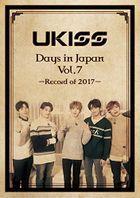 U-KISS Days in Japan Vol.7 -Record of 2017- (日本版)