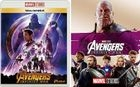 Avengers: Infinity War (MovieNEX + Blu-ray + DVD + Outer Case) (Japan Version)