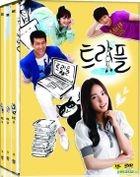 Triple (DVD) (6-Disc) (End) (MBC TV Series) (First Press Limited Edition) (Korea Version)