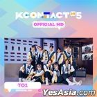 TO1 - KCON:TACT HI 5 Official MD (AR Photo Card Stand)