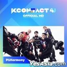 P1Harmony - KCON:TACT 4 U Official MD (AR & Behind Photo Set)