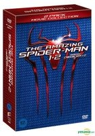 The Amazing Spider-Man 1 + 2 (DVD) (2-Disc) (First Press Limited Edition) (Korea Version)