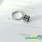 Younha Style - Cubic Square Ring (US Size: 3 1/2)