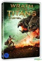Wrath of the Titans (DVD) (Korea Version)