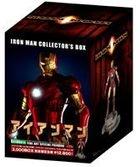 Iron Man Blu-ray Box (w/ Japan Exclusive Figure) (Blu-ray) (First Press Limited Edition) (Japan Version)