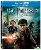 Harry Potter And The Deathly Hallows: Part 2 (Blu-ray) (3D + 2D) (Taiwan Version)