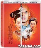 Crouching Tiger, Hidden Dragon (2000) (4K Ultra HD + Blu-ray) (2-Disc Edition) (20th Anniversary Steelbook Edition)  (Taiwan Version)