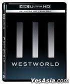 Westworld (4K Ultra HD + Blu-ray) (Ep. 1-8) (Season Three) (Hong Kong Version)