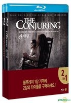 Annabelle (2014) + The Conjuring (2013) (Blu-ray) (2-Disc) (Korea Version)