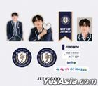 NCT 127 2021 Back to School Kit - Luggage Sticker + Photo Card Set (Jung Woo)