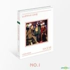 WANNA ONE Special Album - 1÷X=1 (UNDIVIDED) (No.1 Version) + Poster in Tube (No.1 Version)