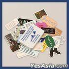 Yerin Baek 'Turn on that Blue Vinyl' Concert Official Goods - Tin Case Sticker Set