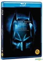 The Dark Knight Trilogy (Blu-ray) (3-Disc) (Normal Edition) (Korea Version)