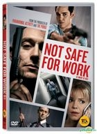 Not Safe For Work (2014) (DVD) (Korea Version)