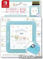 Nintendo Switch Character Card Case 12 Rilakkuma (Rilakkuma no Kyoryugokko) (Japan Version)